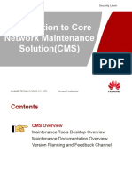 Introduction to Core Network Maintenance Solution