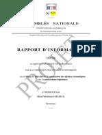 PROJET Rapport d'Activité