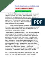 FIN 370 GENIUS Perfect Education Fin370genius.com