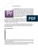 Fungsi Tool Yang Ada Pada Adobe Premiere