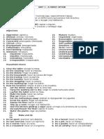 Fce - Unit 1 Vocabulary