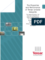 Properties of Tensar Uniaxial Geogrids_Guide for Design_2007