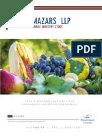 Food Beverage Survey 2015