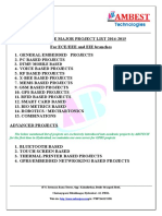 Major Eie Projects List2