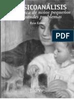 El psicoanálisis en la clínica de niños pequeños con grandes pr.pdf
