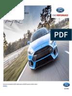 Lista de Preturi Ford Focus RS