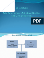 Job Analysis presentation