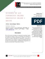 Icono14. A8/V2. Economía de los contenidos online