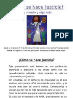 Como hacer Justicia