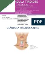 Presentacion Capitulo 53,54,55,56,57,58,59 de Cirugia Tiroides