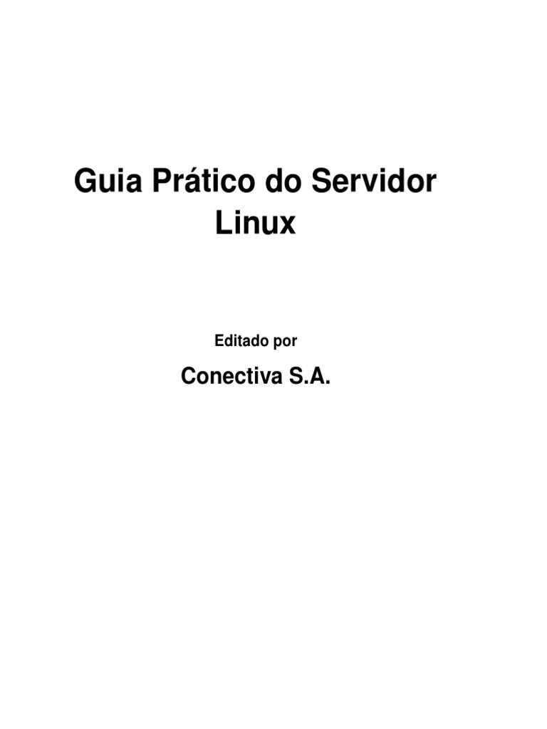 Livro Servidores Linux Guia Pratico Pdf