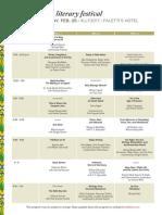 LLF2017 Program