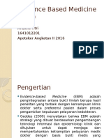 Arizkha Fitri 1641012201 Evidence Based Medicine (EBM)