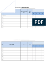 Mathematics Year 4 Reporting Templates