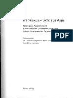Schmidt Franz v.assisi Und Der Franziskanerorden