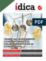 TEORÍA DEL ACATAMIENTO CONSTITUCIONAL Y EL VALOR NORMATIVO DE LA CONSTITUCIÓN
