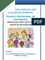 Programa Educativo - Internado