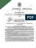 OUG 100 - 15.12.2016 - M. OF. 1052  - modificare L50 din 1991