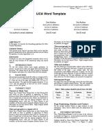 template IJCA.doc