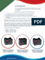 Choisissez votre échangeur d'air Direct Air