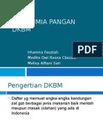 DKBM (DAFTAR KOMPOSISI BAHAN MAKANAN)