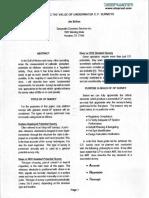 1994 Maximizing the Value of Underwater Cp Survey Jim Britton
