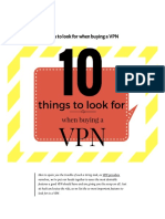 10 Things to Look for When Buying a VPN – Medium