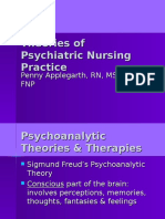 Theories of Psychiatric Nursing Practice