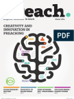 Preach Magazine Issue 1 - Winter 2014