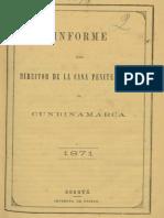1871 Director Casa Penitenciaria Cundinamarca - Informe