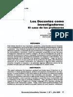 Los Docentes como Investigadores- EI caso de los profesores de inglés..pdf