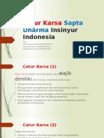 Catur Karsa Sapta Dharma Insinyur Indonesia