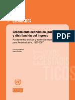 Crecimiento Económico, Pobreza y Distribucion de Ingresos