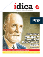 DERECHOS HUMANOS Y FILOSOFÍA DE RÉNE SAMUEL CASSIN
