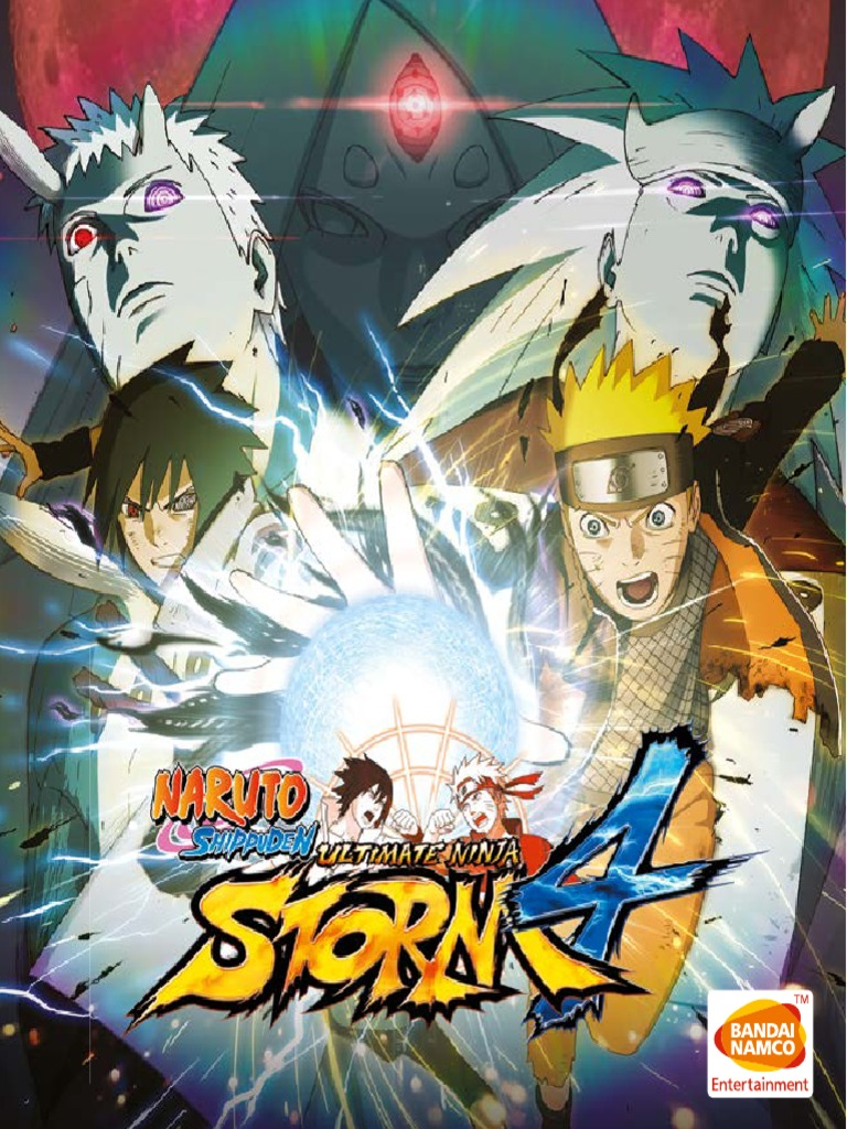 Naruto Shippuden: Ultimate Ninja Storm 4 PC Manual
