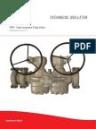 PLUG VALVE - TIPV - Technical Bulletin