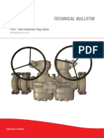 PLUG VALVE - TIPV - Technical Bulletin