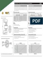 Carel Spkt Sensor Spec Sheet