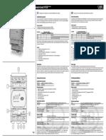Carel PCOE Installation Manual Eng