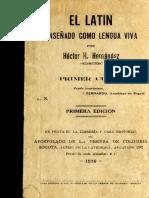 Latín enseñado como lengua viva.pdf