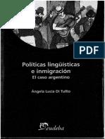 620-Di Tullio, Ángela - Políticas lingüísticas e inmigración.pdf