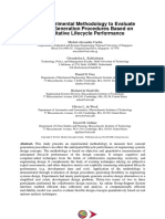 An Experimental Methodology to Evaluate Concept Generation Procedures Based on Quantitative Lifecycle Performance
