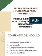 Modulo 1 Quimica Ingenieria Pavimentos Presentacion