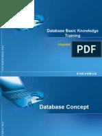 Training on Database Basic Knowledge V1[1].0-20050330-B