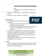 General Instructions IPD