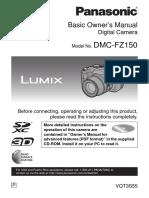 Manual Camera Panasonic Fz150