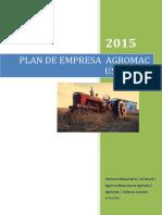 Plan de Empresa - Agromac Usa Corp