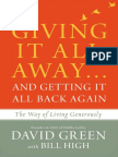 Giving It All Away...And Getting It All Back Again Sample