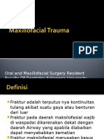 Maxillofacial Trauma - Terjemah