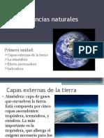 capas externas de la tierra y efecto invernadero